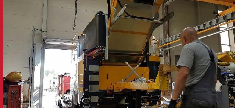 Transport gabarytowy ciężkiego sprzętu, przewóz maszyn Anglia, Irlandia, Szkocja