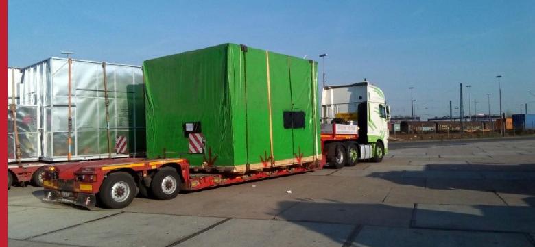Project cargo, transport całopojazdowy, transport lądowy, transport specjalny z portu Hamburg