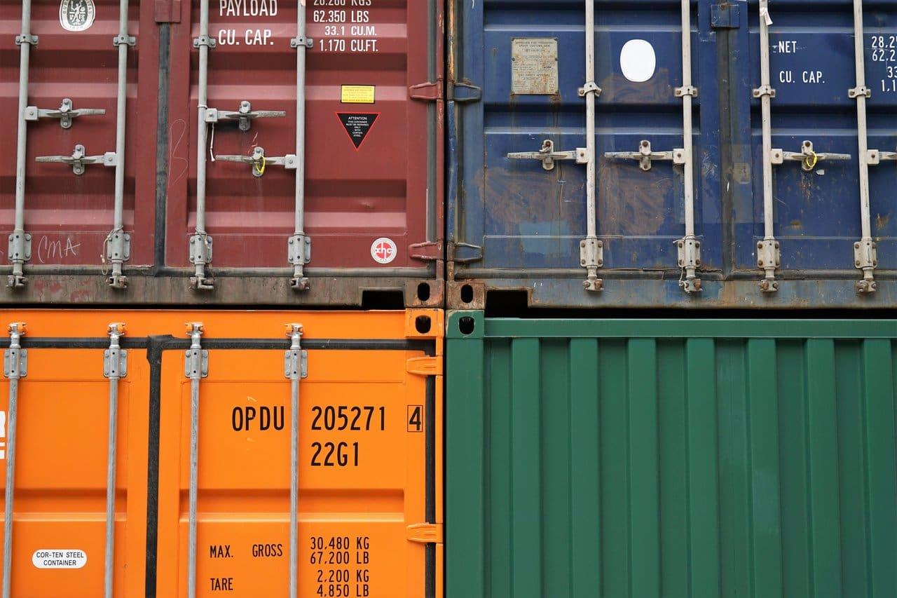 BBA Transport System Kontener z Chin