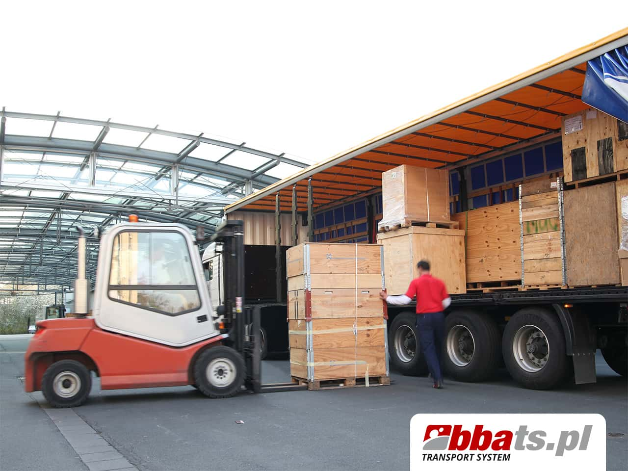 Transport Drobnicowy z BBA Transport System