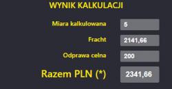 Kalkulator kosztów transportu z Chin do Polski