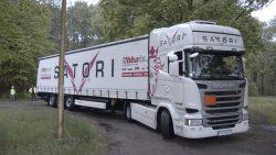 Transport drogowy z Hamburga do Warszawy.