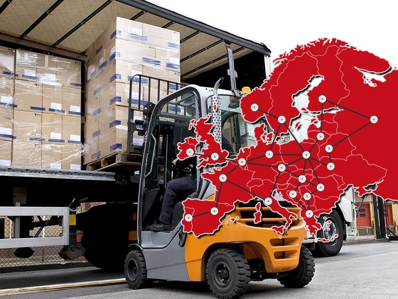 Przesyłki paletowe drobnicowe i całopaletowe. Transport palet w Polsce i za granicą