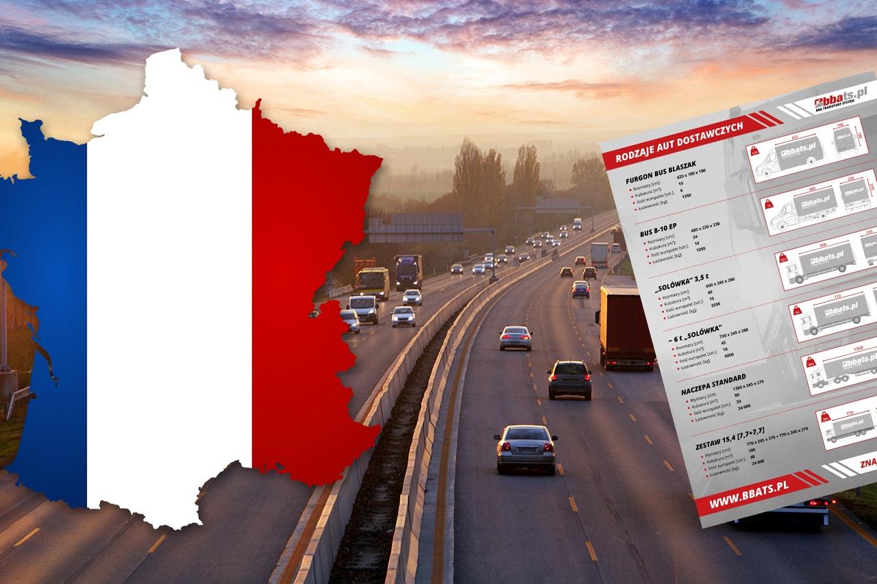transport towarów do francji