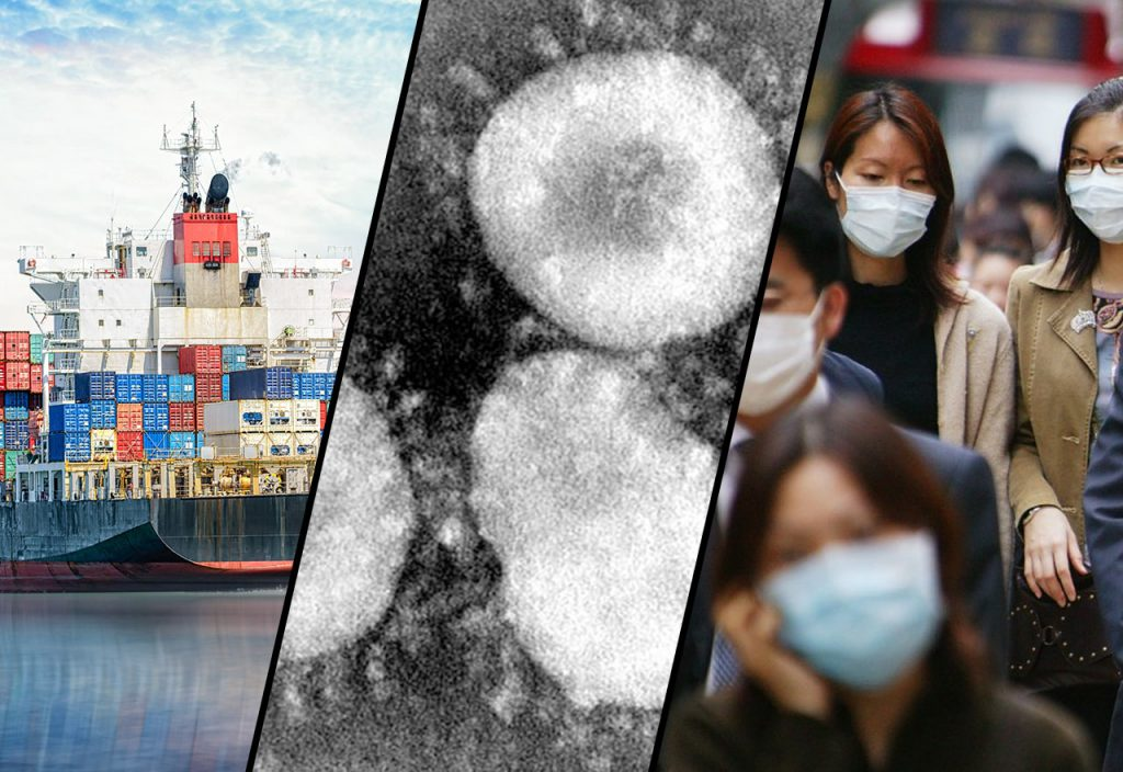 Wpływ Koronawirusa z Wuhan na transport towarów z Chin