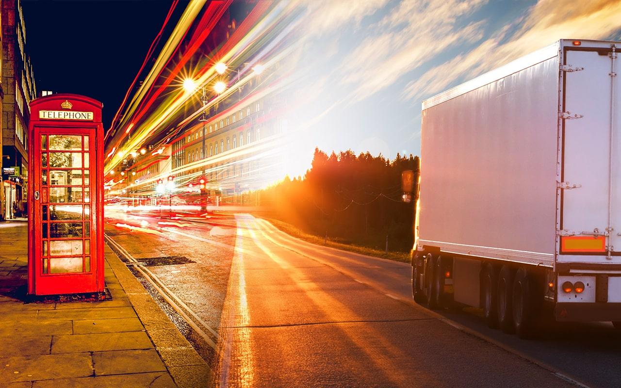 Transport do Anglii - spedycja towarów do wielkiej brytanii