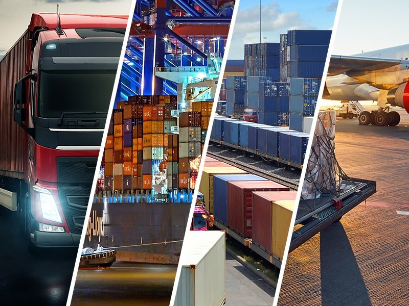 Transport międzynarodowy – o rosnącym popycie na spedycję lotniczą, morską, drogową i kolejową