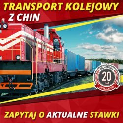 Transport Kolejowy z Chin - aktualne stawki