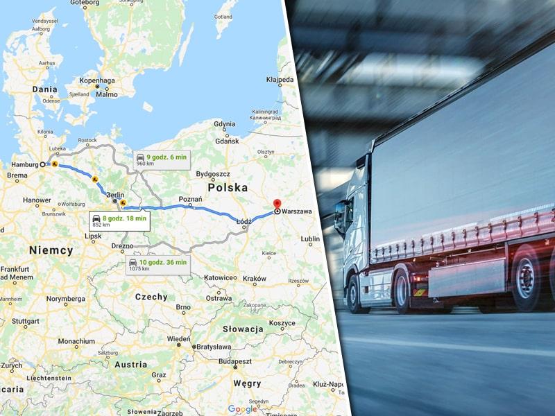 Transport z Hamburga do Warszawy - Spedycja Międzynarodowa Warszawa