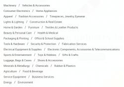 Jak kupować na Aliexpress? Wybór kategorii w portalu Alibaba.com