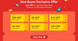 Jak Kupować Na Aliexpress? Kupony dla nowozarejestrowanych użytkowników w portalu DHgate.